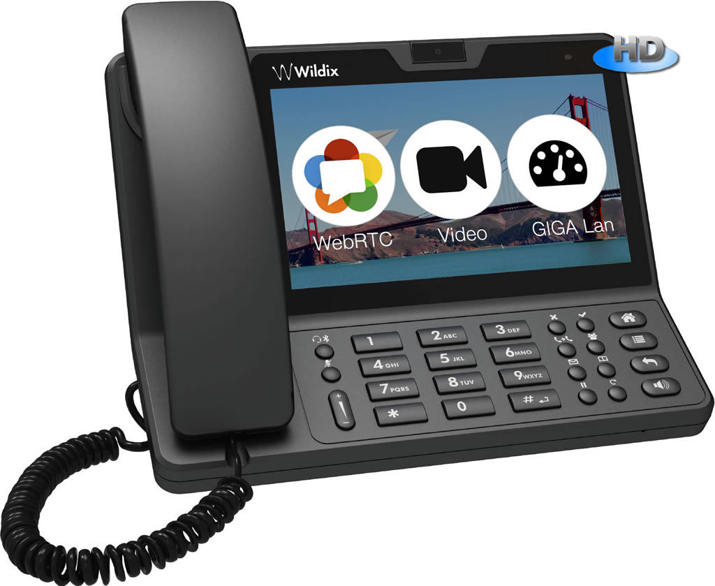 Camera Sip Phone For Android wildix partner usa partners voip sip phone android 4 2 os touchscreen display 1024600 dual port 101001000 2mp webcam presence and chat audio hd wideband pbx ph