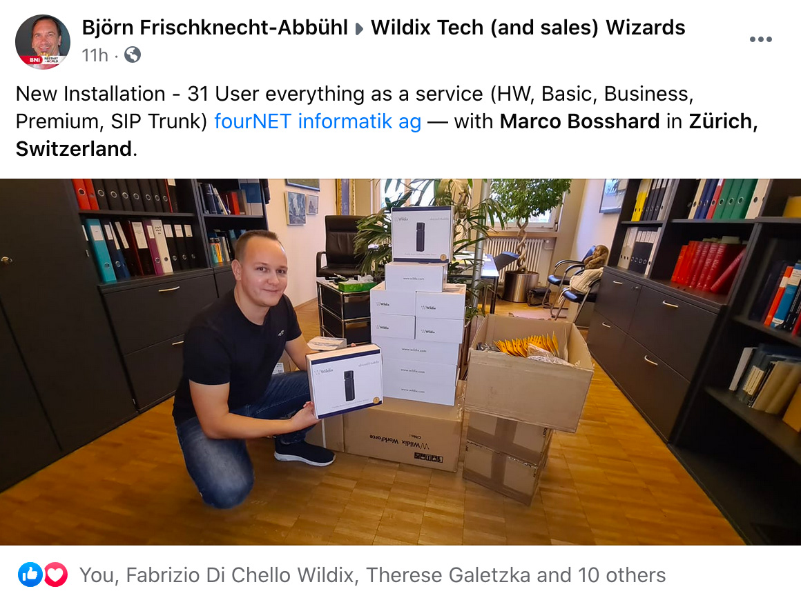 Wildix partners testimonial